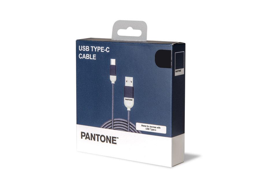 Pantone Kabel Type C Blauw
