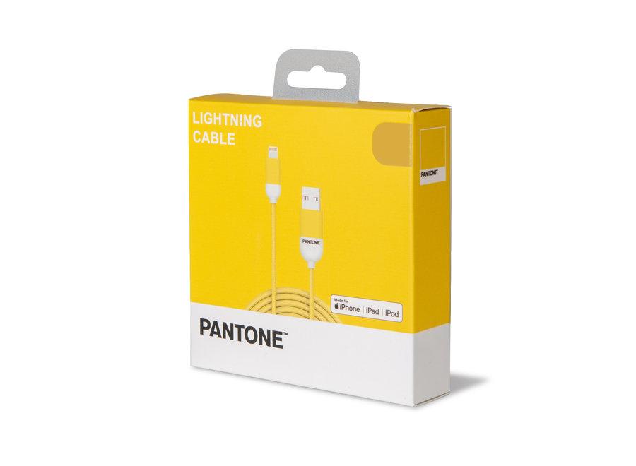 Pantone Lightning Kabel Geel