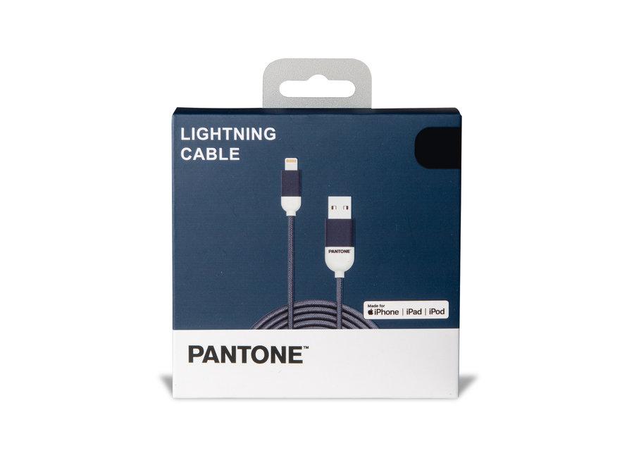 Pantone Lightning Kabel Blauw