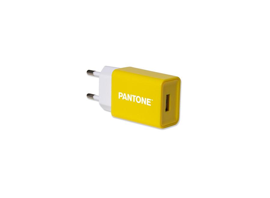 Pantone Oplader 2.1A Geel