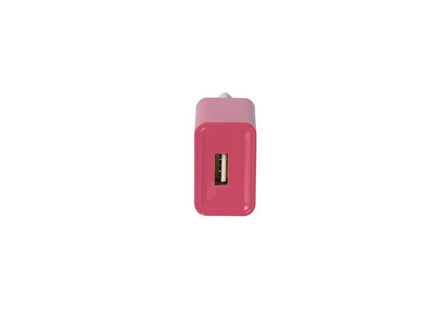 Pantone Oplader 2.1A Roze