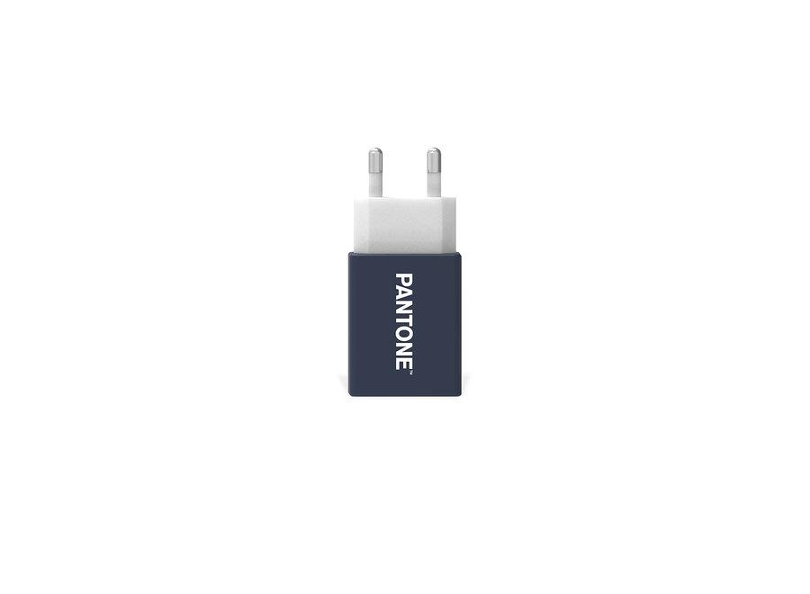 Pantone Oplader 2.1A Blauw