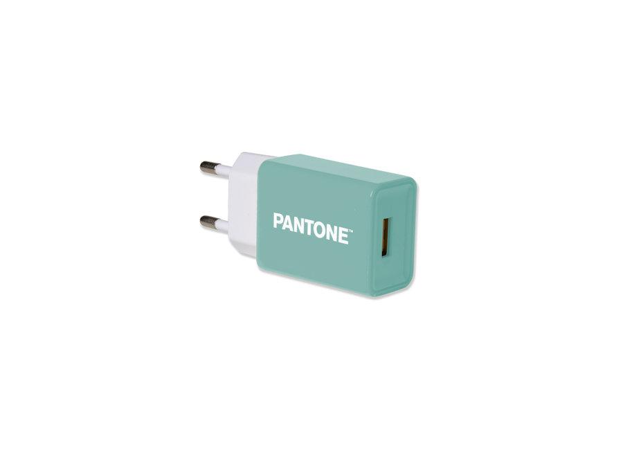 Pantone Oplader 2.1A Groen