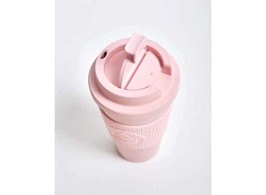 Beker To Go Biologisch Afbreekbaar Roze Pink Flamingo