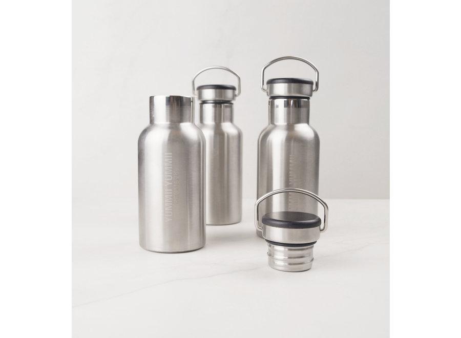 Thermofles - 350 ml - Stainless Steel – zwart