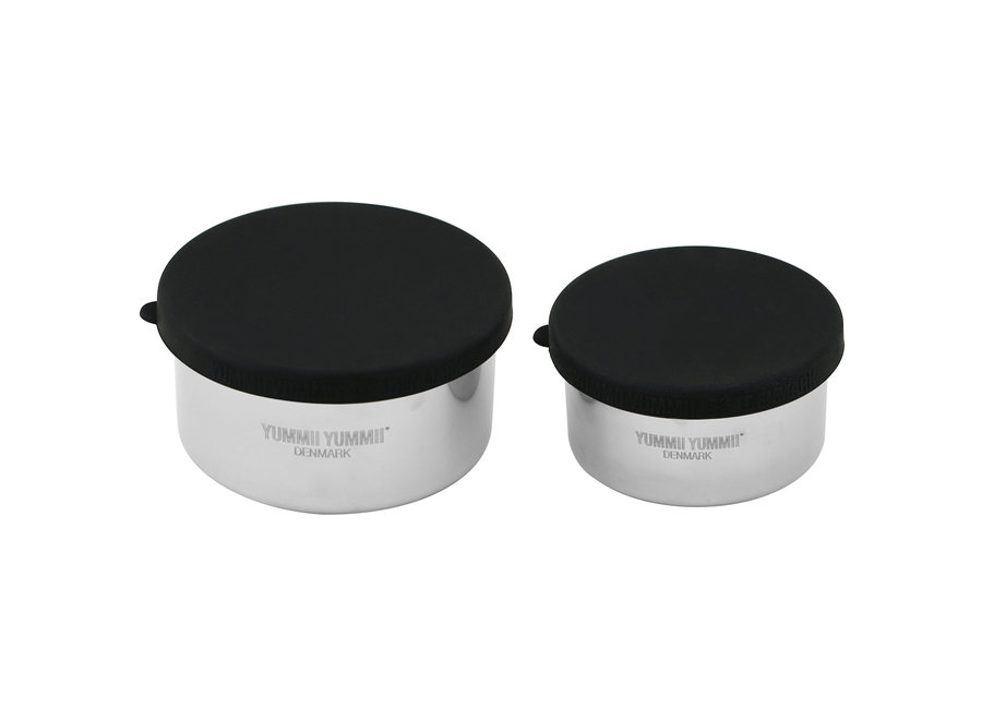 Bento Kruiden/ Dressing Containers - set 1x 200 & 1x 300 ml