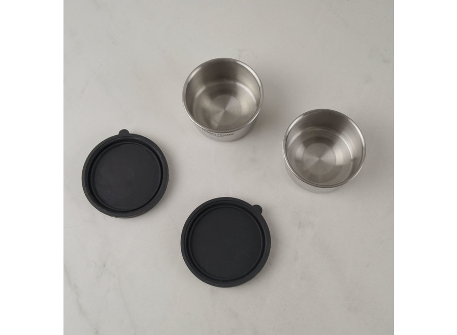 Bento Kruiden/ Dressing Containers - set 2x 100 ml