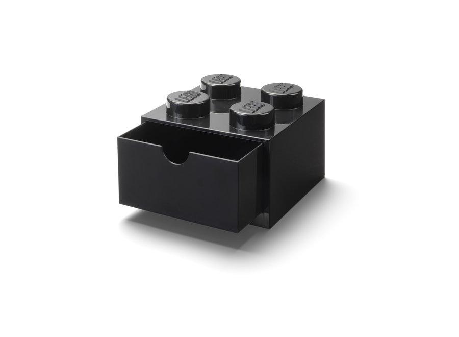 Bureaulade Brick 4 Opberger Zwart