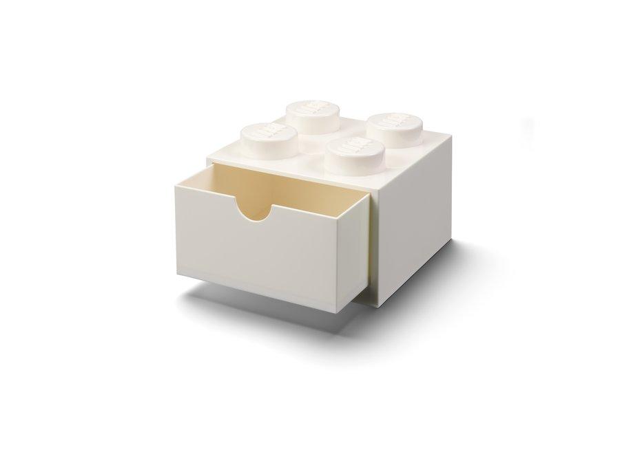 Bureaulade Brick 4 Opberger Wit