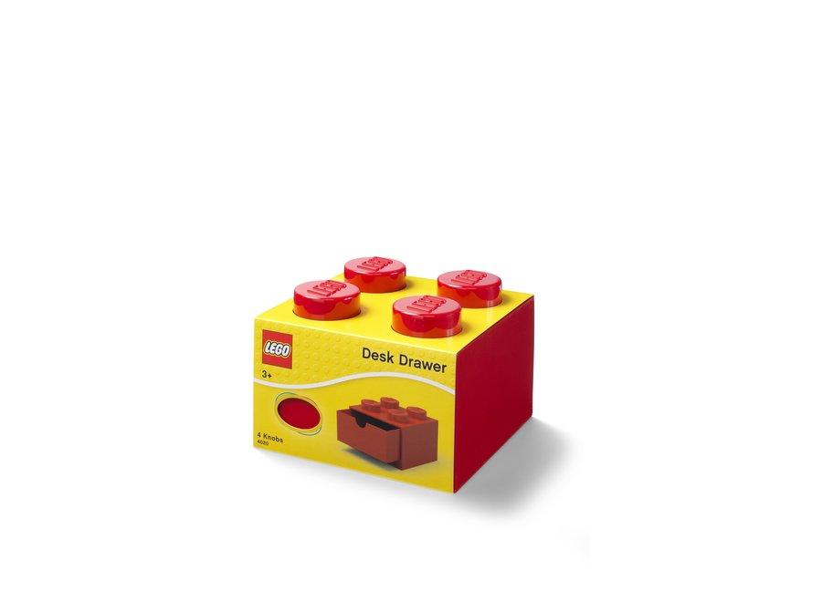 Bureaulade Brick 4 Opberger Rood