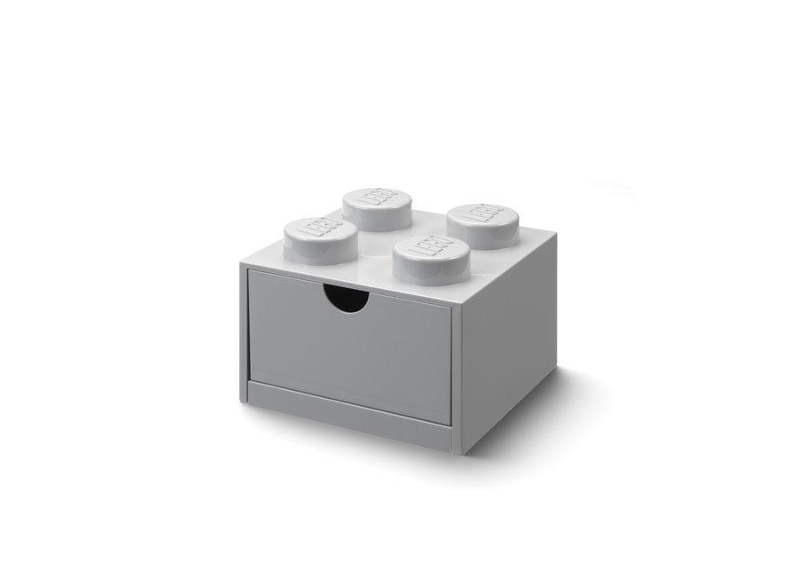 Bureaulade Brick 4 Opberger Grijs