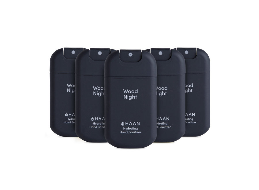 Hand Sanitizer Spray 30ml 5-Pack Wood Night