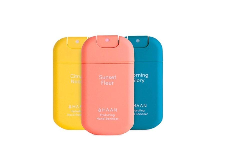Hand Sanitizer Spray 30ml 3-Pack Morning Glory, Citrus Noon, Sunset Fleur