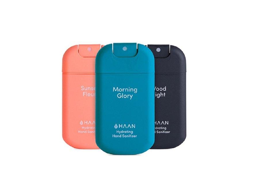 Hand Sanitizer Spray 30ml 3-Pack Morning Glory, Sunset Fleur, Wood Night