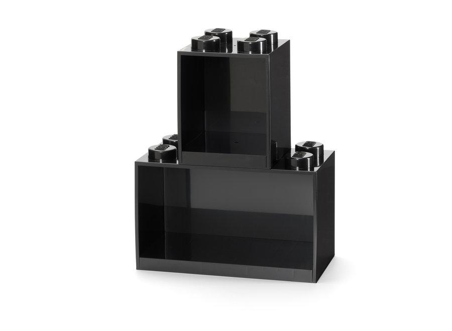 Wandplanken Set Zwart