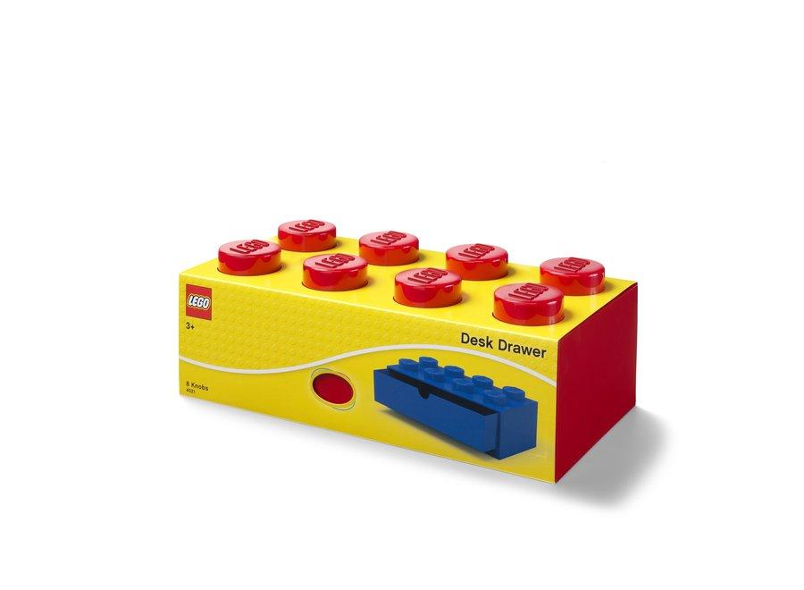 Bureaulade Brick 8 Opberger Rood