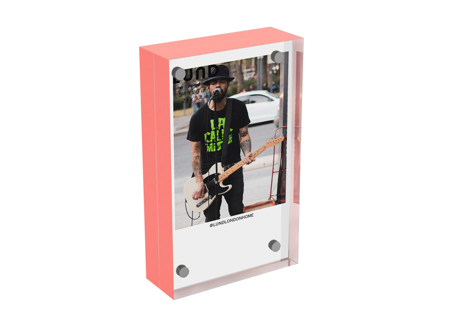 Skittle Fotolijst Instax Koraal