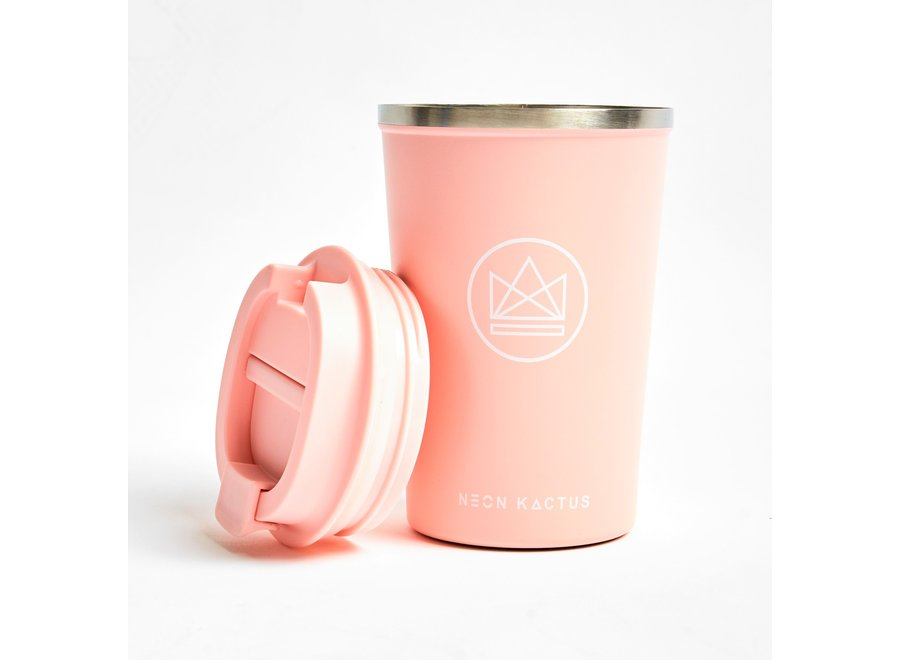 Travel Mug Roze Pink Flamingo