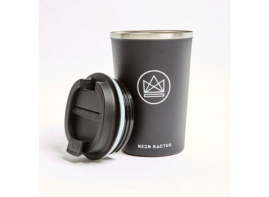 Travel Mug Zwart Rock Star