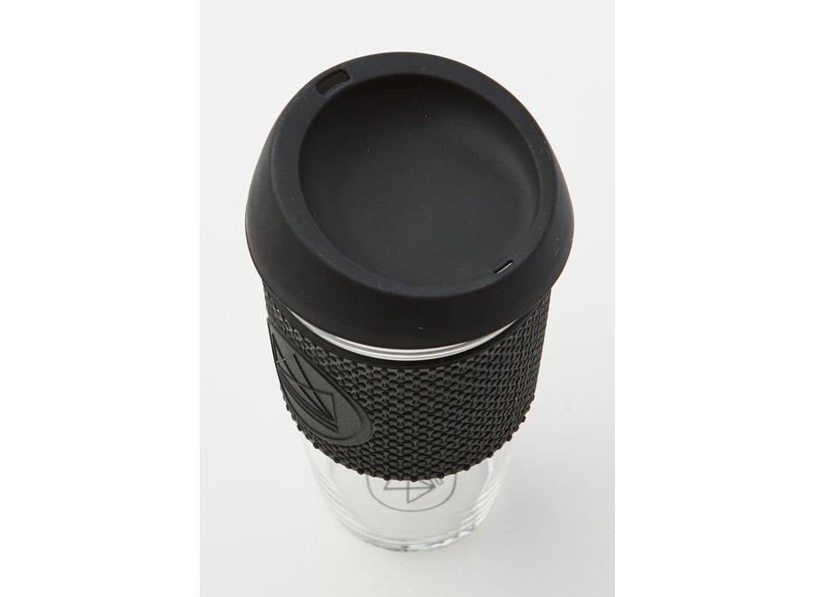 Glas 450ml Zwart Rock Star