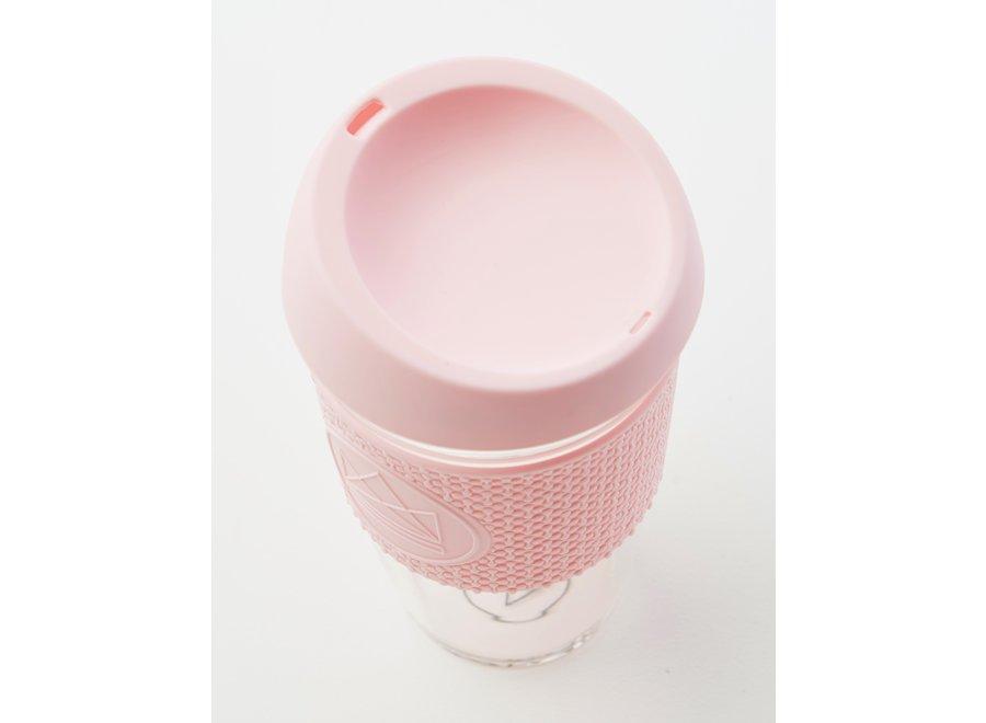 Glas 450ml Roze Pink Flamingo