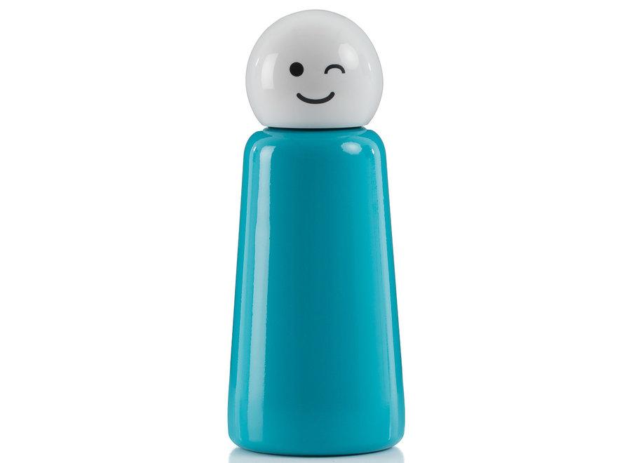 "Skittle Fles Mini Blauw ""WINK"""