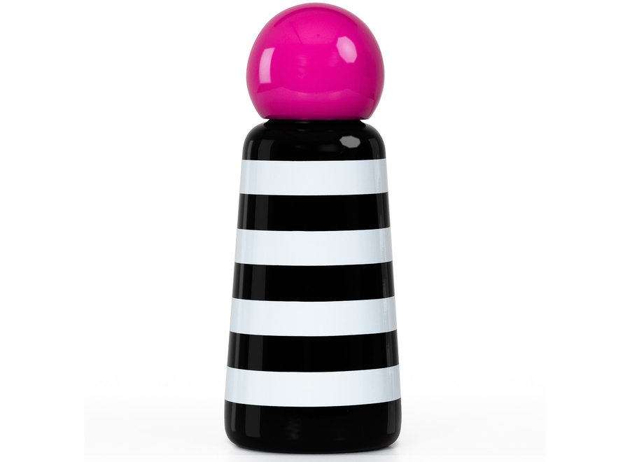 Skittle Fles Mini Stripes & Hot Pink