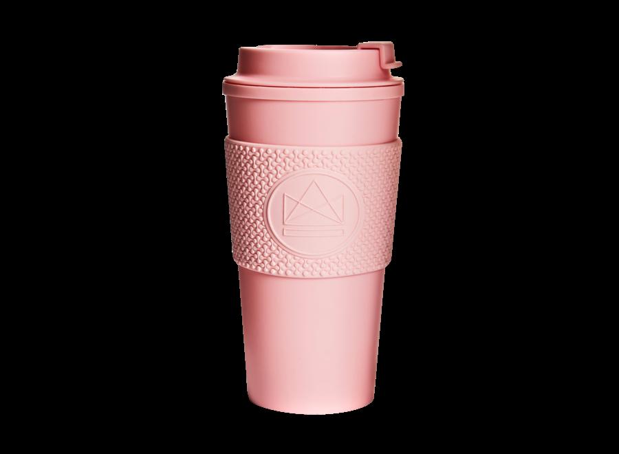 Thermosbeker Dubbelwandig Pink Flamingo