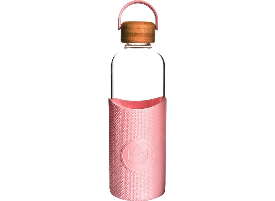Drinkfles 1 Liter Pink Flamingo