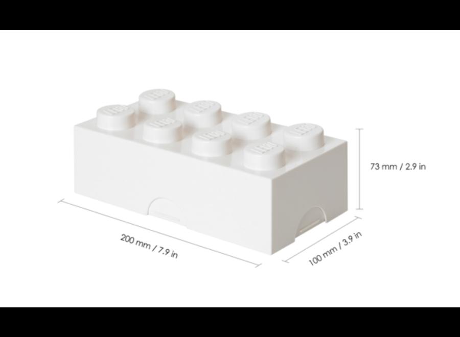 Classic Box Brick 8 Wit