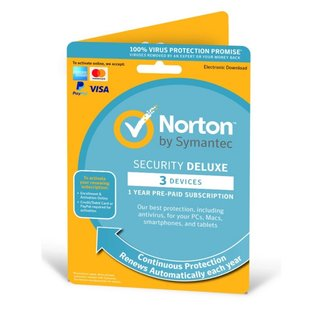 Norton Security Deluxe 1 User 3 Devices OEM