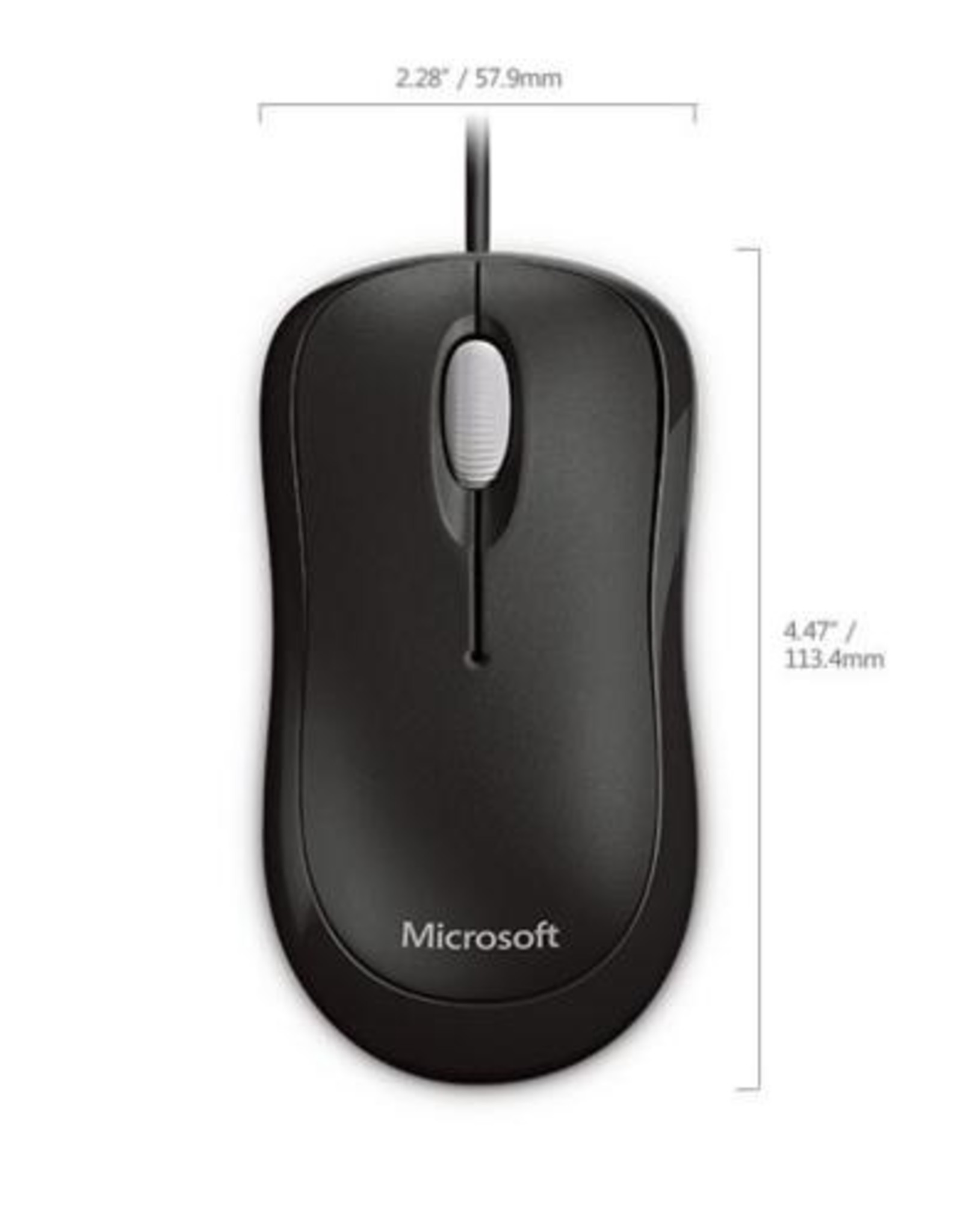Basic Optical Mouse for Business Black
