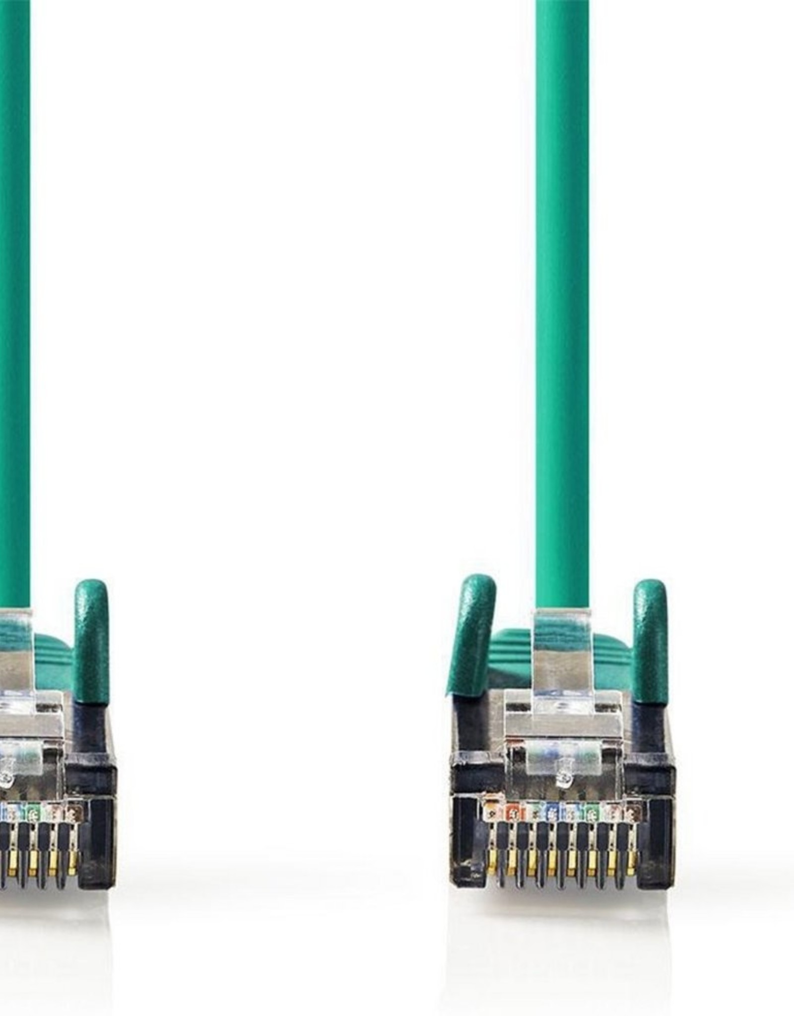 CAT6 S/FTP-netwerkkabel/RJ45 2m Groen