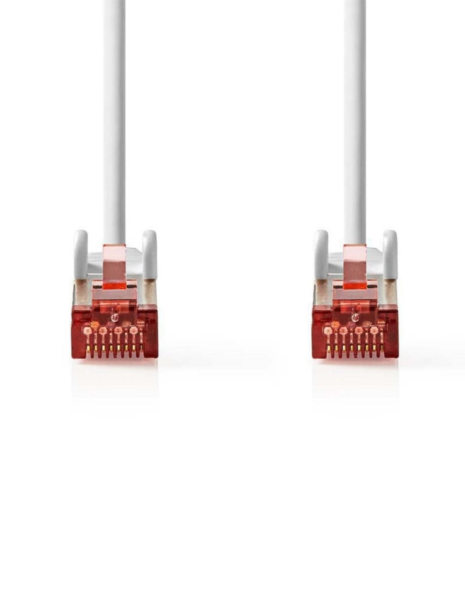 S/FTP CAT6 RJ45netwerkkabel 1,0 m grey