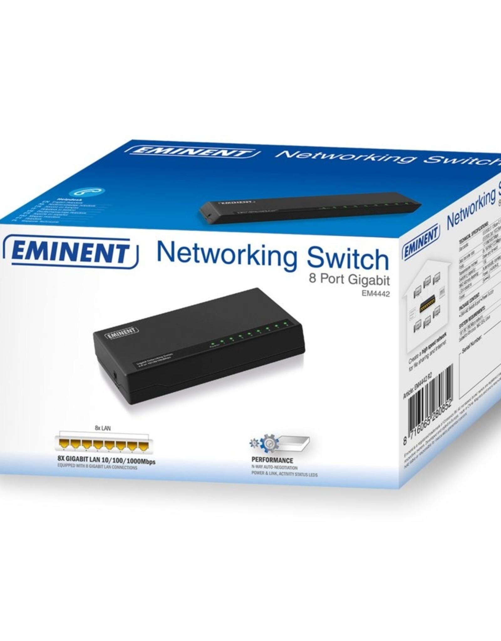 Gigabit Switch 8-Poorts