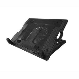 """EW1258 notebook cooling pad 43,2 cm (17"""") 1000 RPM Zwart"""