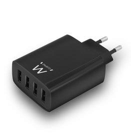 EW1314 oplader voor mobiele apparatuur Binnen Zwart