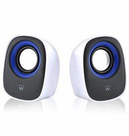 EW3513 luidspreker 1-weg 5 W Zwart, Blauw, Wit Bedraad
