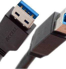 EW9623 USB-kabel 1,8 m 3.2 Gen 1 (3.1 Gen 1) USB A USB B Zwart