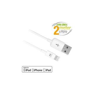 EW9902 Lightning-kabel 2 m Wit