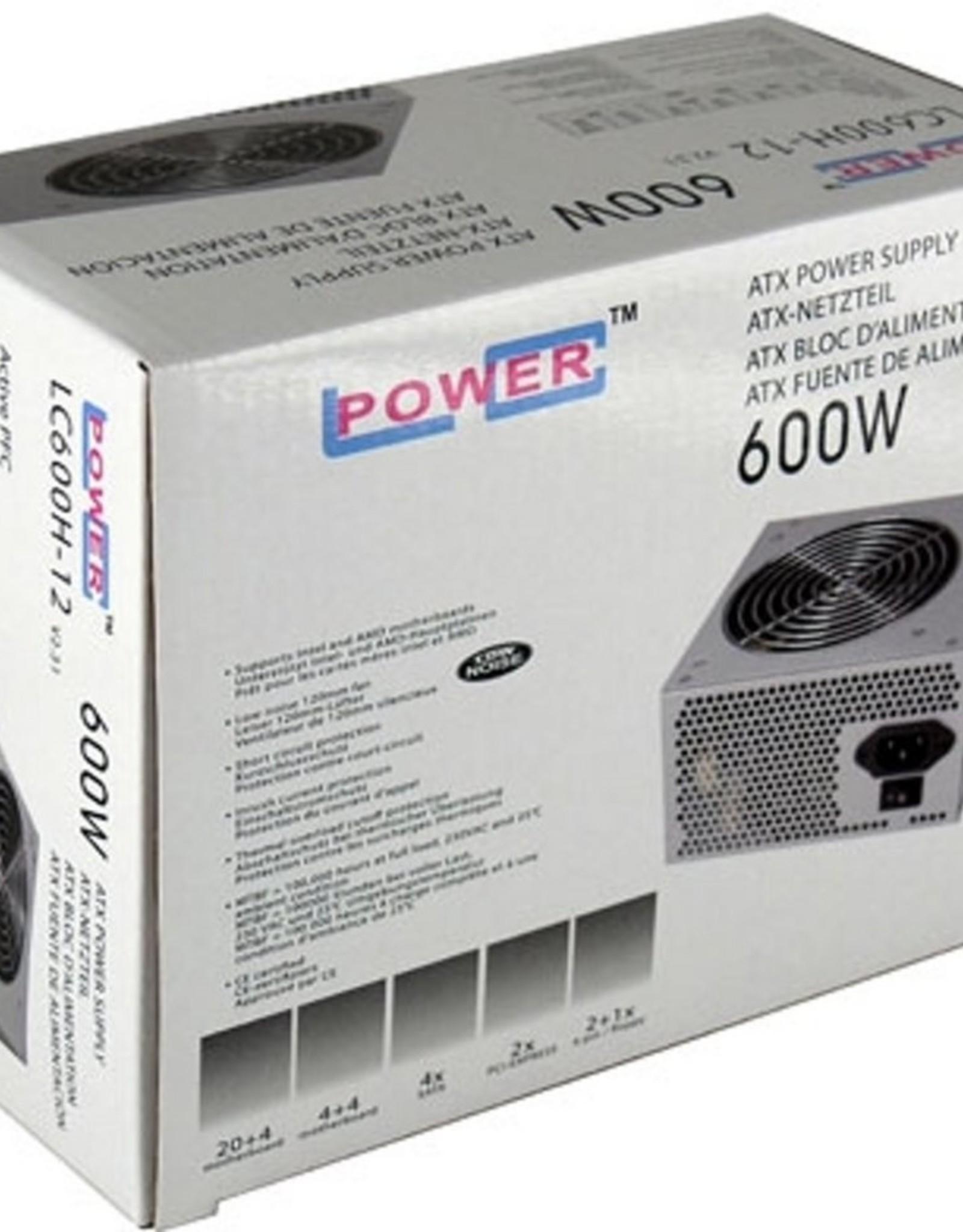PSU  600W ATX Zilver