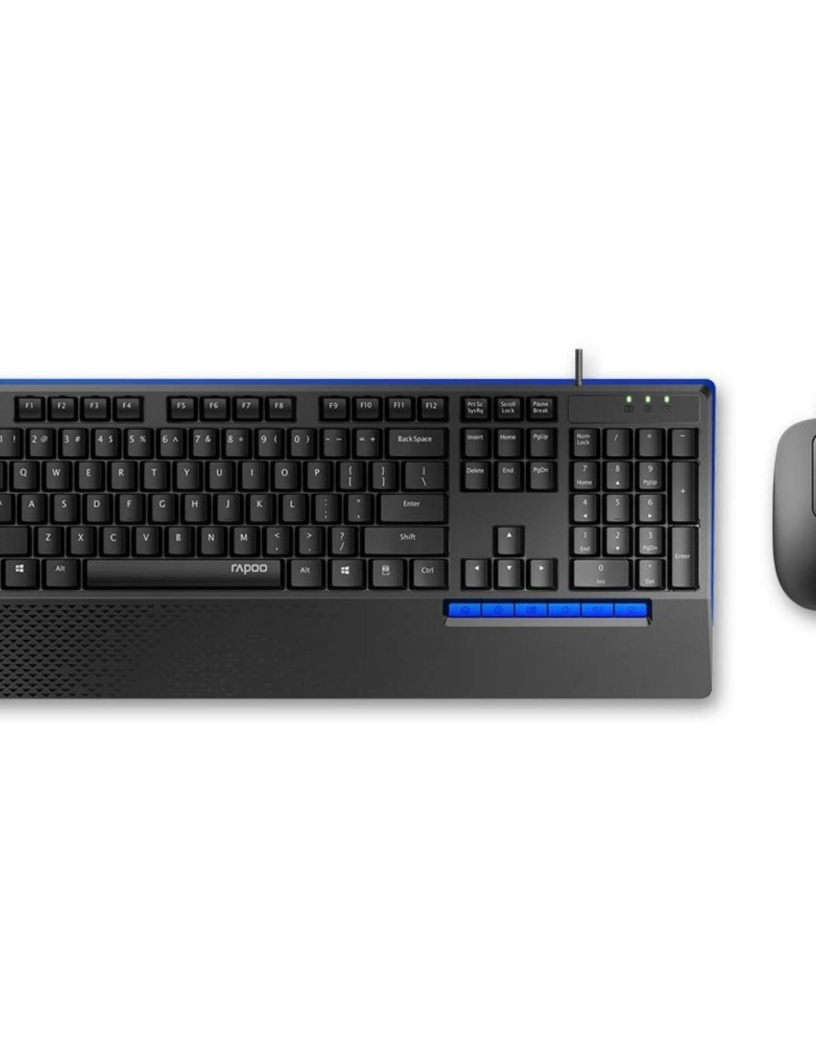 NX2000 Keyboard en Muis desktopset- Black