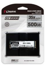 SSD KC2000 500GB NVMe M.2  3000MB/s read 2000/MB/s