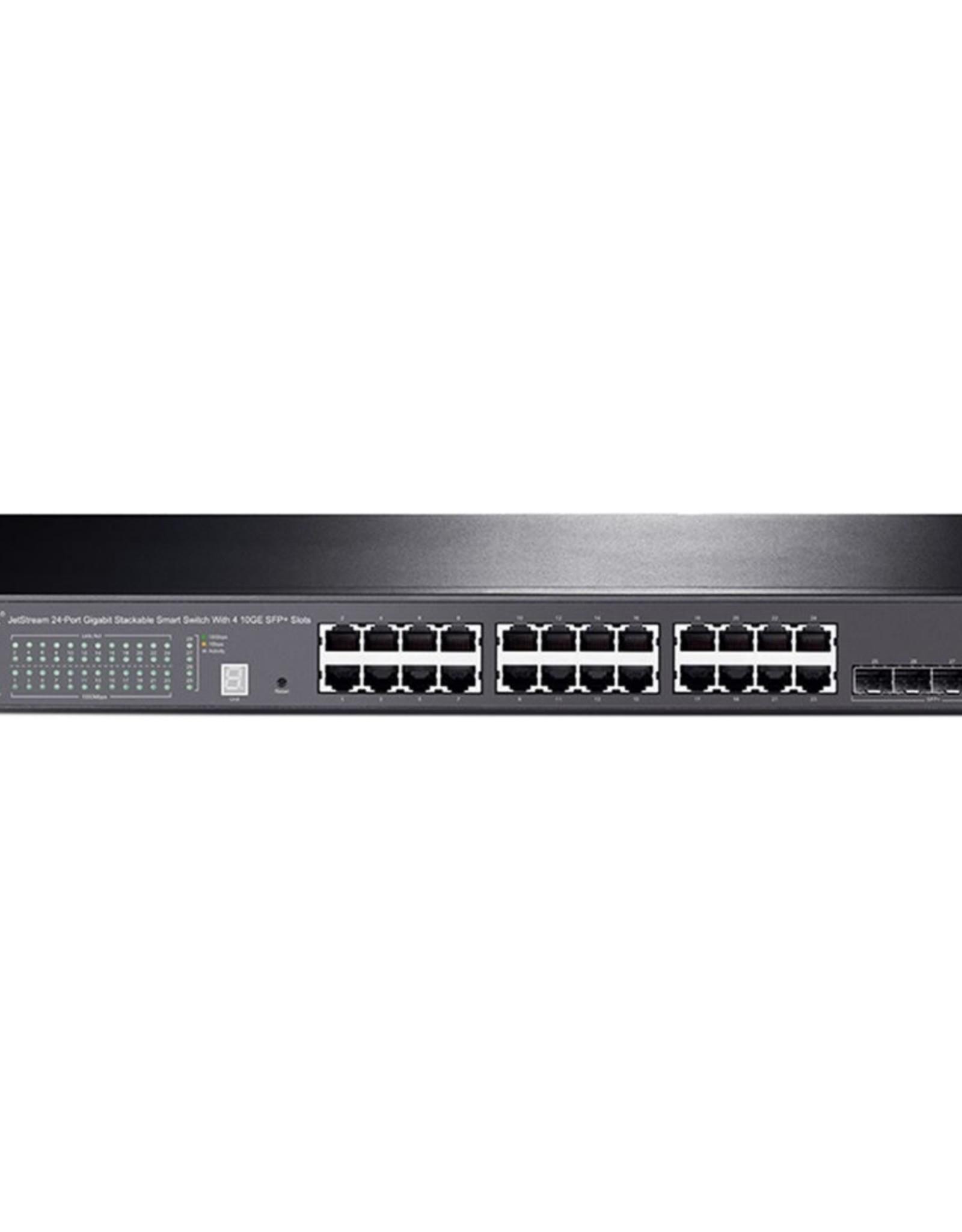 24Port, 24x1Gb - 4xSFP Smart Switch