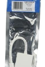 Mini DisplayPort Kabel Mini-DisplayPort Male VGA Female 15