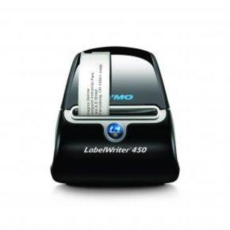 Dymo LabelWriter 450 [600 x 300 DPI, 51 lpm, Black,Silver, USB 2.0, Serial, 5.8 cm, Windows/ MAC]