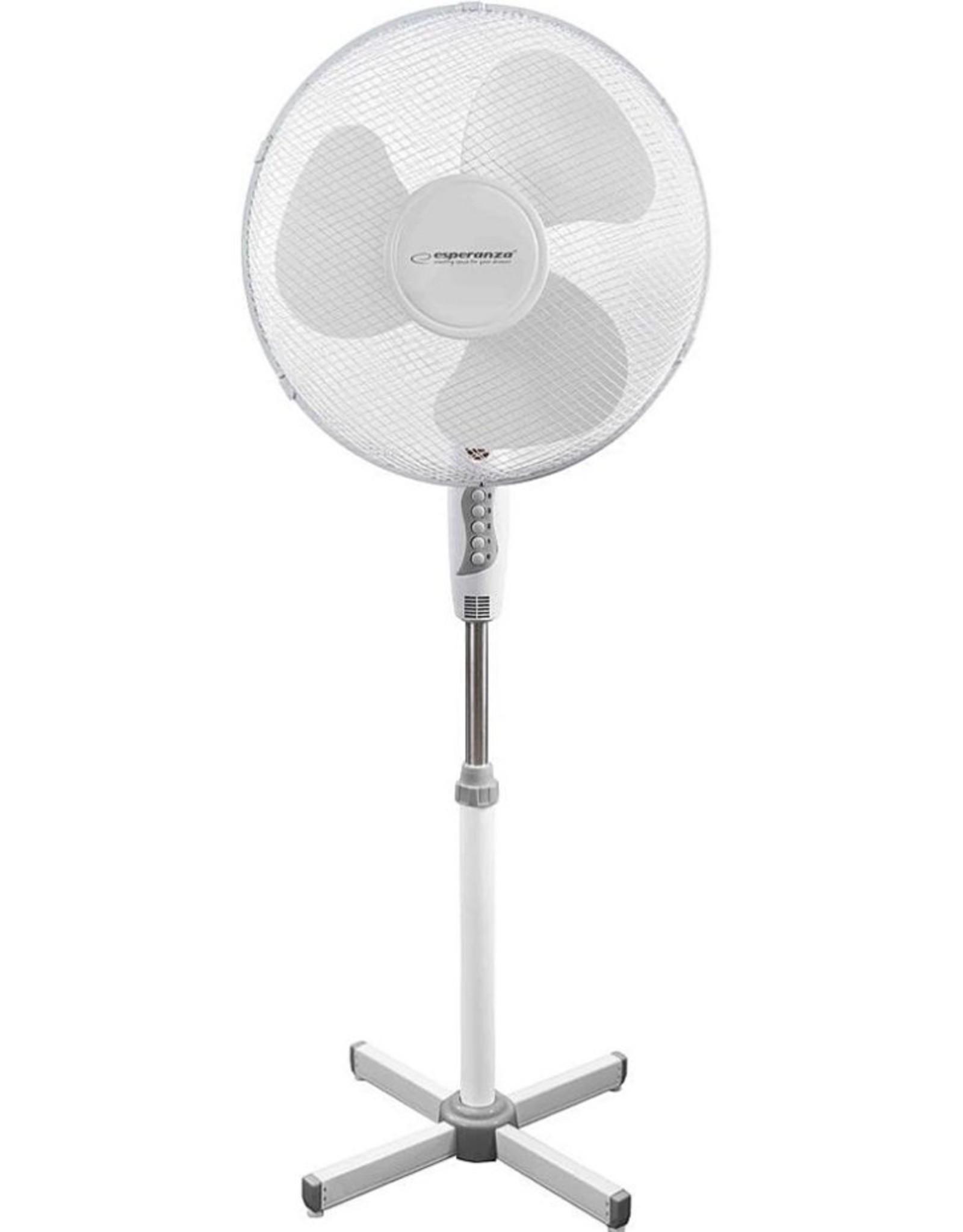 Ped. Cooling Fan /Voetstuk Ventilator 16inch Wit