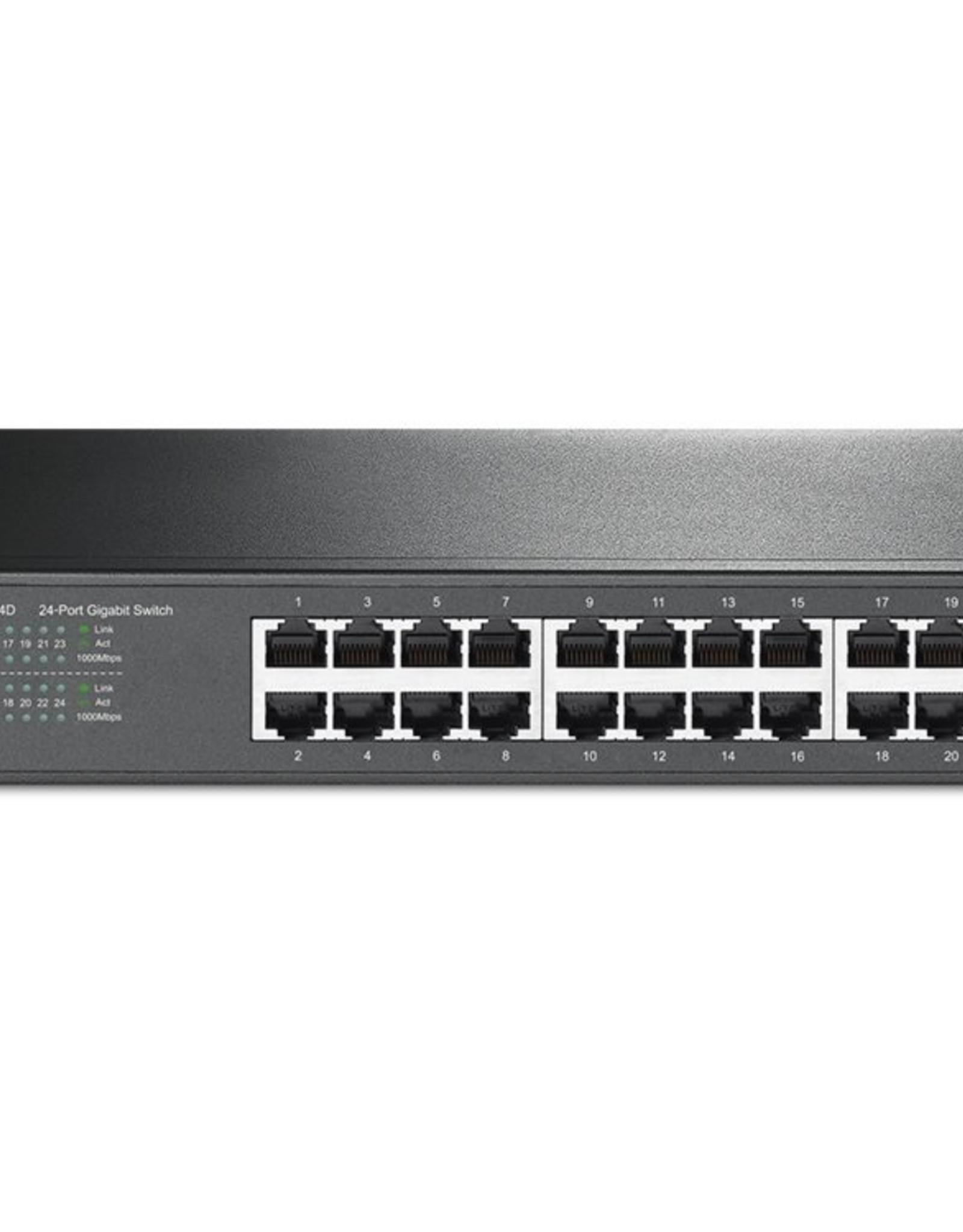 24-Port Gigabit Desktop/Rackmount Switch