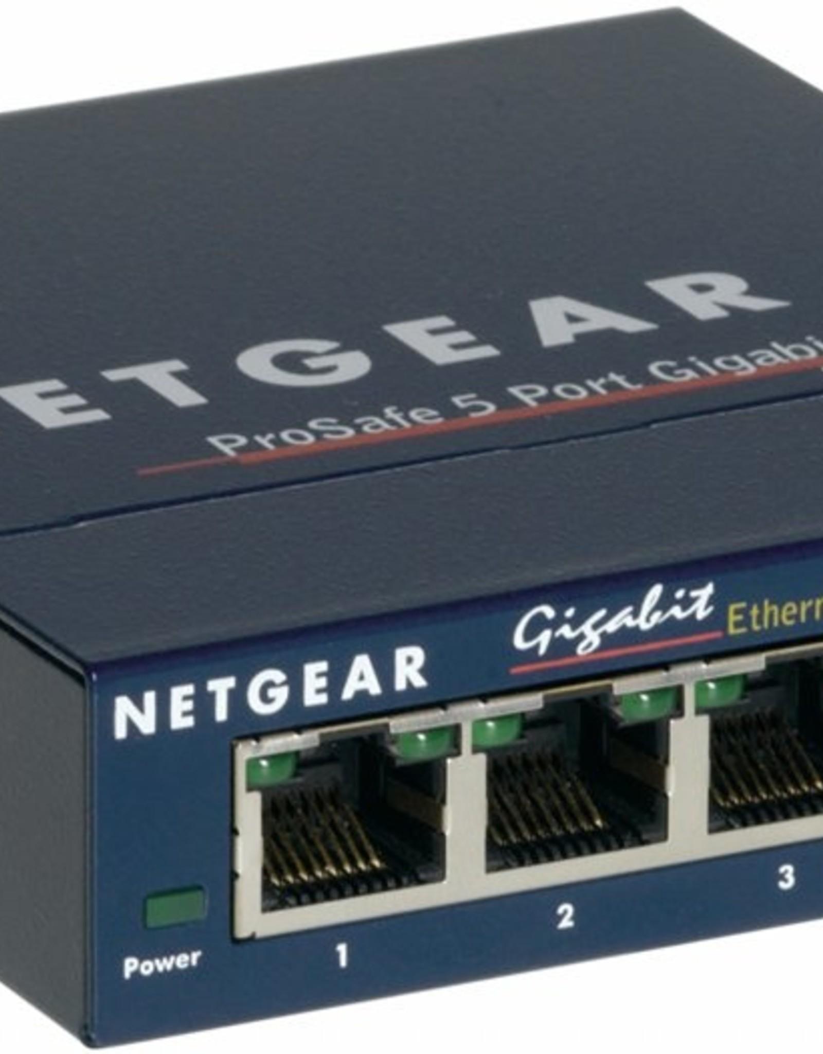 ProSafe 5 Port Gigabit Desktop Switch
