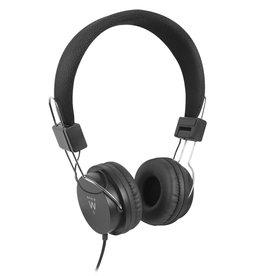 EW3573 hoofdtelefoon/headset Hoofdtelefoons Hoofdband Zwart